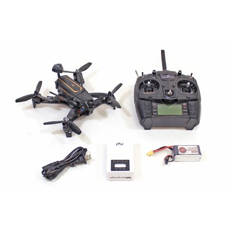 New HRP 210Mm Rtf Fpv Drone With6 Ch Tx, Battery And Charger
