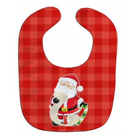 Christmas Santa Claus list Baby Bib - Baby Supplies List