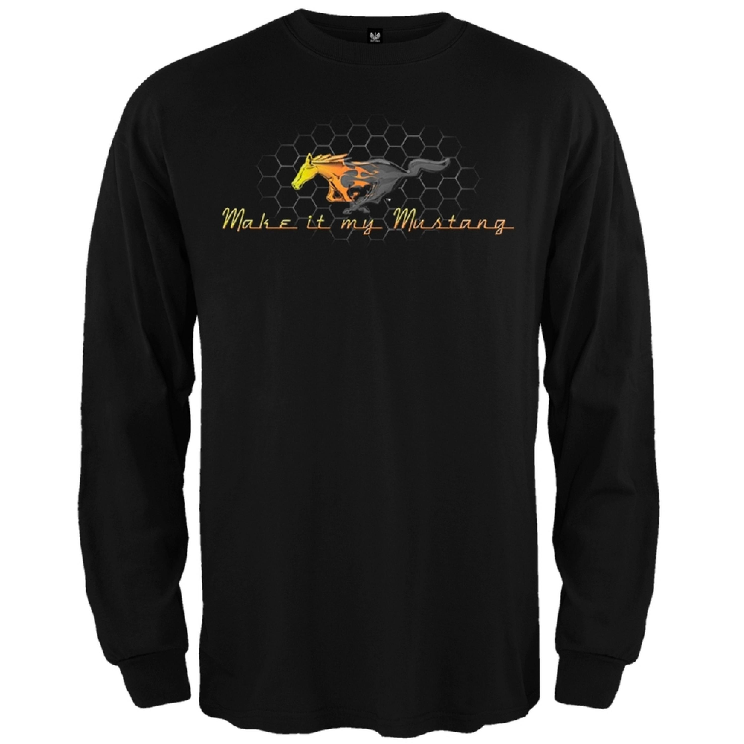 Ford - Make It My Mustang Long Sleeve T-Shirt