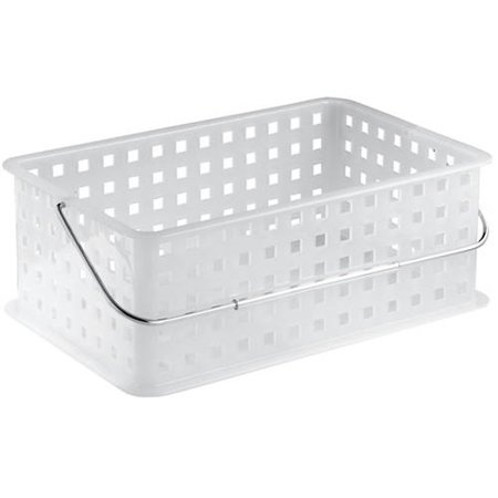 Plastic Baskets With Handles (InterDesign Household Storage Organizer Basket with Handle, 5.1