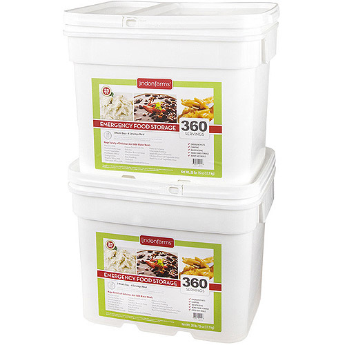 Lindon Farms 720 Servings Freeze Dried Food Survival Emergency Storage Meals by Lindon Farms