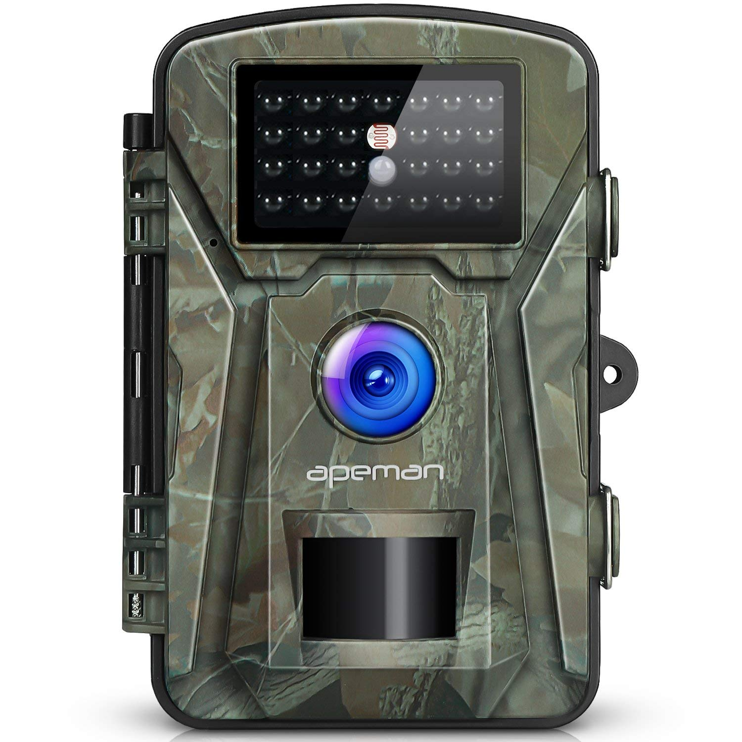 "APEMAN Trail Camera 12MP 1080P 2.4"" LCD Game & Hunting Camera with 940nm Upgrading IR LEDs Night Vision up to 65ft/20m IP66 - NEW VERSION"