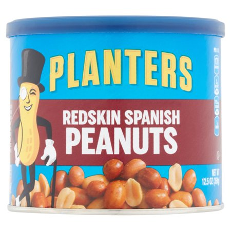 Planters Redskin Spanish Nuts - 1 Can (12.5)