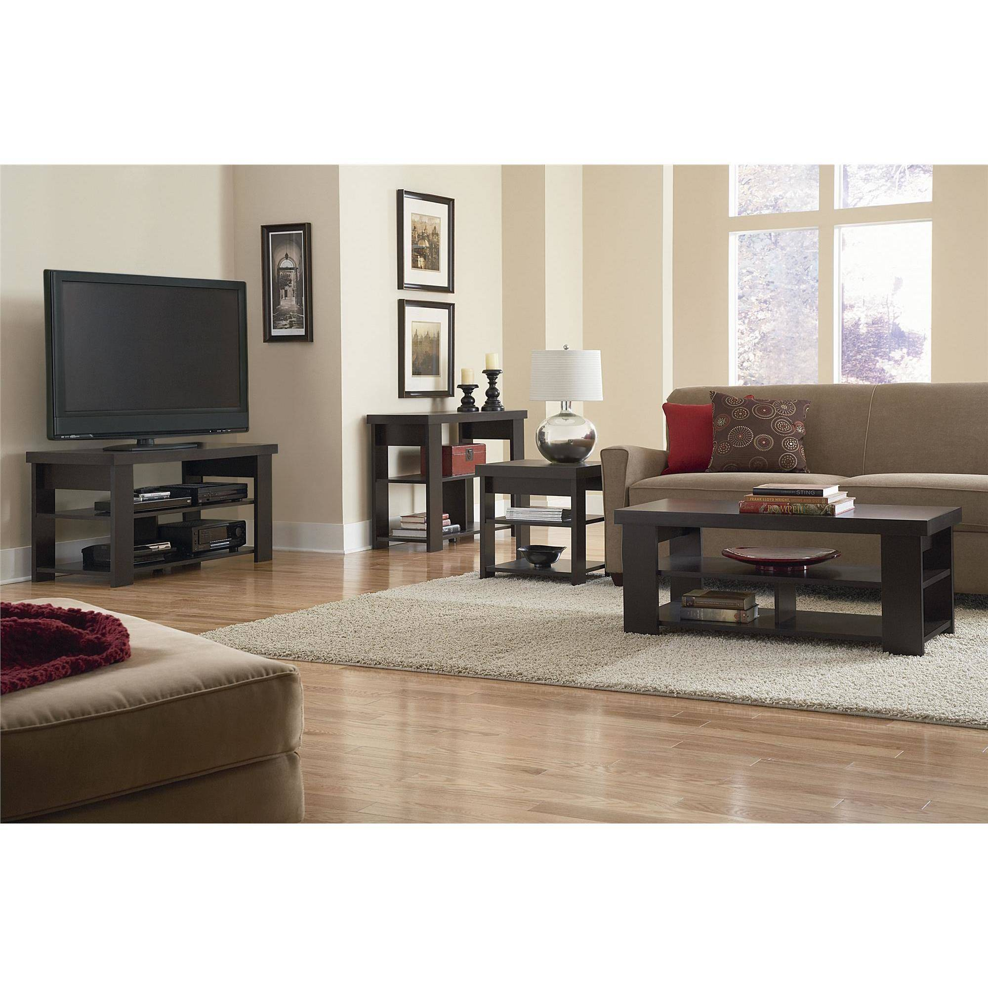Ameriwood Home Jensen Coffee Table Multiple Colors Walmartcom - Espresso finish coffee table set