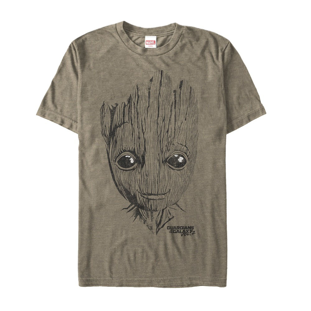 Mens Marvel Guardians Of The Galaxy Vol 2 Get Your Groot On NEW T-Shirt