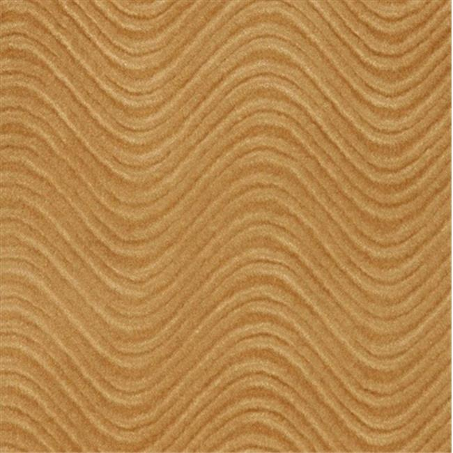 Designer Fabrics C847 54 in. Wide Camel Brown, Classic Velvet Swirl Automotive, Residential And Commercial Upholstery Velvet