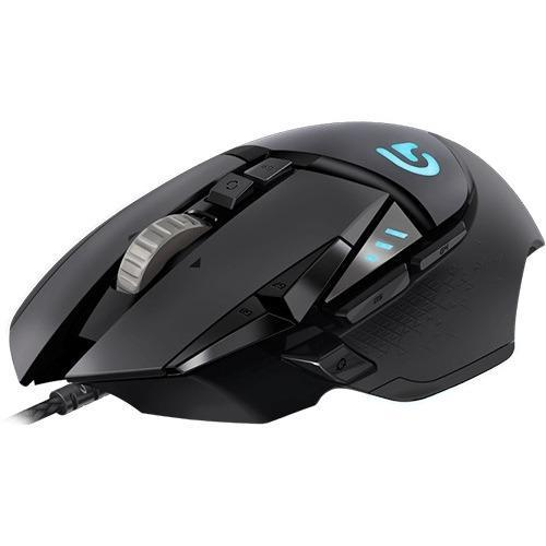 Logitech G502 Proteus Spectrum RGB Tunable Gaming Mouse - Optical - Cable - USB - 12000 dpi - Computer - Scroll Wheel -