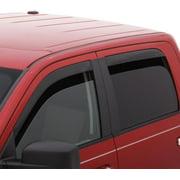 AVS 05-18 Nissan Frontier Crew Cab Ventvisor Low Profile Deflectors 4pc - Smoke