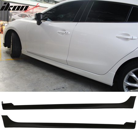 Fits 14-18 Mazda 3 4Dr 5Dr MP Style Side Skirts - PP