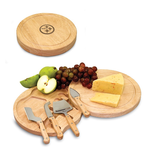 Pittsburgh Steelers Circo Cheese Board & Tool Set - No Size