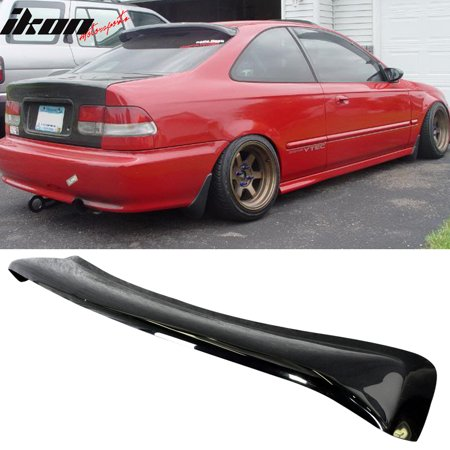 Fits 96-00 Honda Civic EK2 Coupe 2Dr Rear Roof Window Visor Spoiler (Nissan Altima Coupe Rear Spoiler)