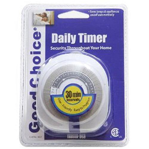 Good Choice 24-Hour Lighting Timer
