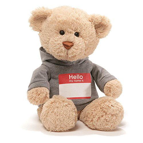 Gund Hello My Name Is T-Shirt Stuffed Teddy Bear by GUND