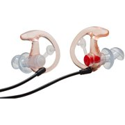 Surefire EP3 Sonic Defender Earplugs, Clear, Small, 1 Pair