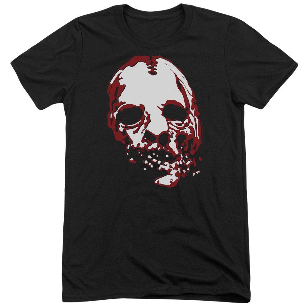 American Horror Story Bloody Face Mens Tri-Blend Short Sleeve Shirt