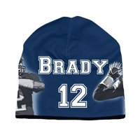 bef7e188 Product Image Erazor Bits New England Patriots Tom Brady NFL Football  Beanie Cap, Navy Blue