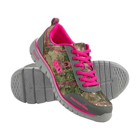 3f70ce412ebe Legendary Whitetails - Legendary Whitetails Ladies Kendra Realtree Athletic  Shoes - Walmart.com