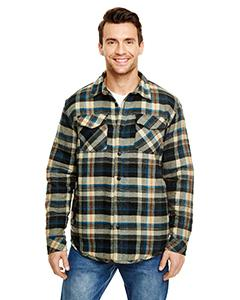 Burnside - Quilted Flannel Jacket - 8610