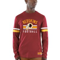 f33bfe2c8 Product Image Washington Redskins Majestic Power Hit Wordmark Long Sleeve T- Shirt - Burgundy