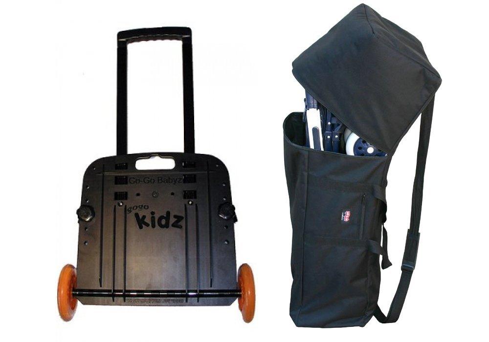 GoGo Babyz Travelmate Car Seat Carrier & Padded Umbrella Stroller Bag by Go-Go Babyz