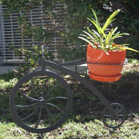 RSI Metal Bicycle Novelty Garden Planter ()