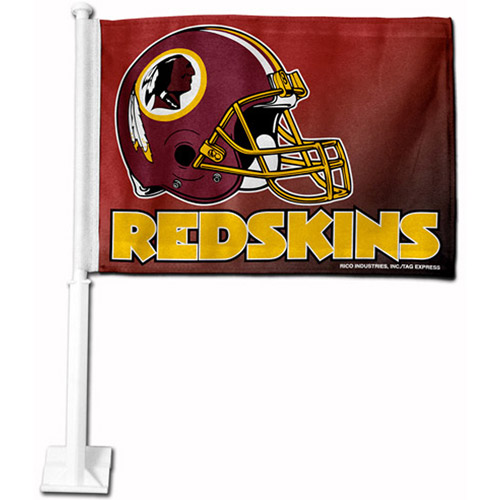 Rico Industries NFL Car Flag, Washington Redskins