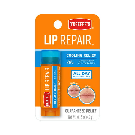 O'Keeffe's Lip Repair Cooling Relief Lip Balm Stick
