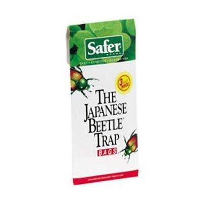 Safer Japanese Beetle (Safer Brand Japanese Beetle Trap Bags, 2Pack)
