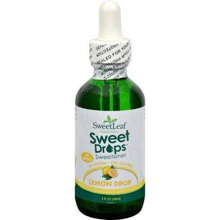 SweetLeaf Liquid Stevia Sweet Drop Sweetener, Lemon Drop, 2 Ounce Bottles