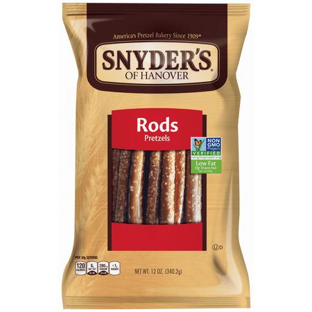 Snyder's of Hanover Pretzel Rods, 12.0 OZ