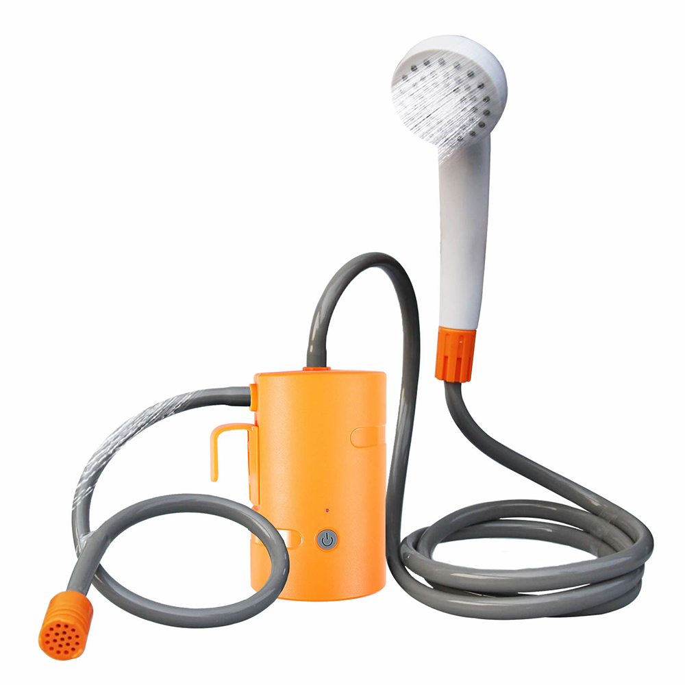 Rechargeable Camping Shower Pump Portable Electric Outdoor Shower 20L Bucket