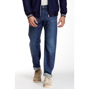 7 for all mankind men's austyn relaxed straight leg jean in vincent street, 33