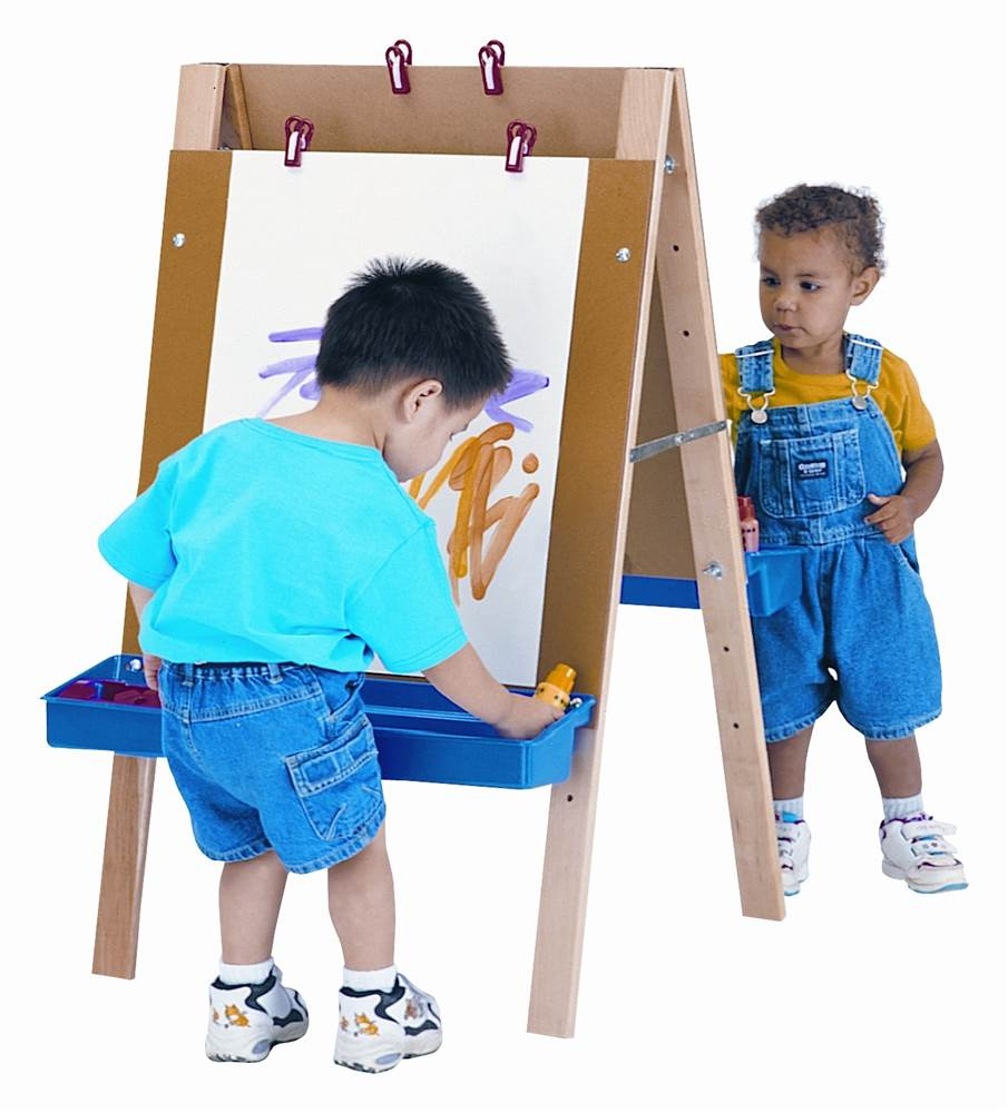 Jonti Craft Toddler Adjustable Easel