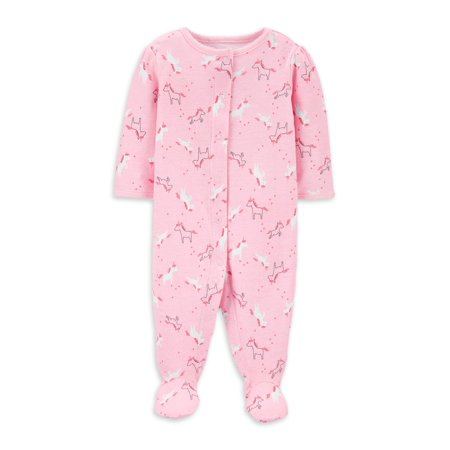 Child Of Mine by Carter's Unicorn Unisex Sleep N Play Pajama