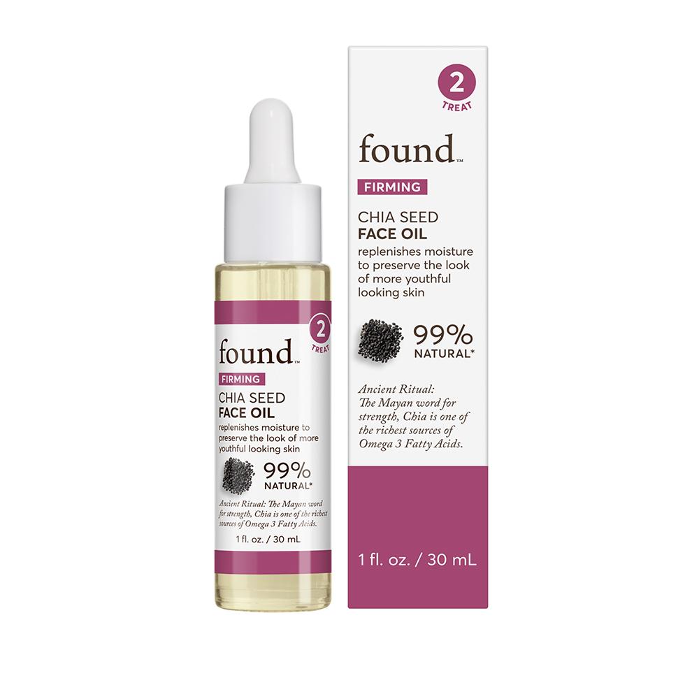 FOUND FIRMING Chia Seed Face Oil, 1 fl oz
