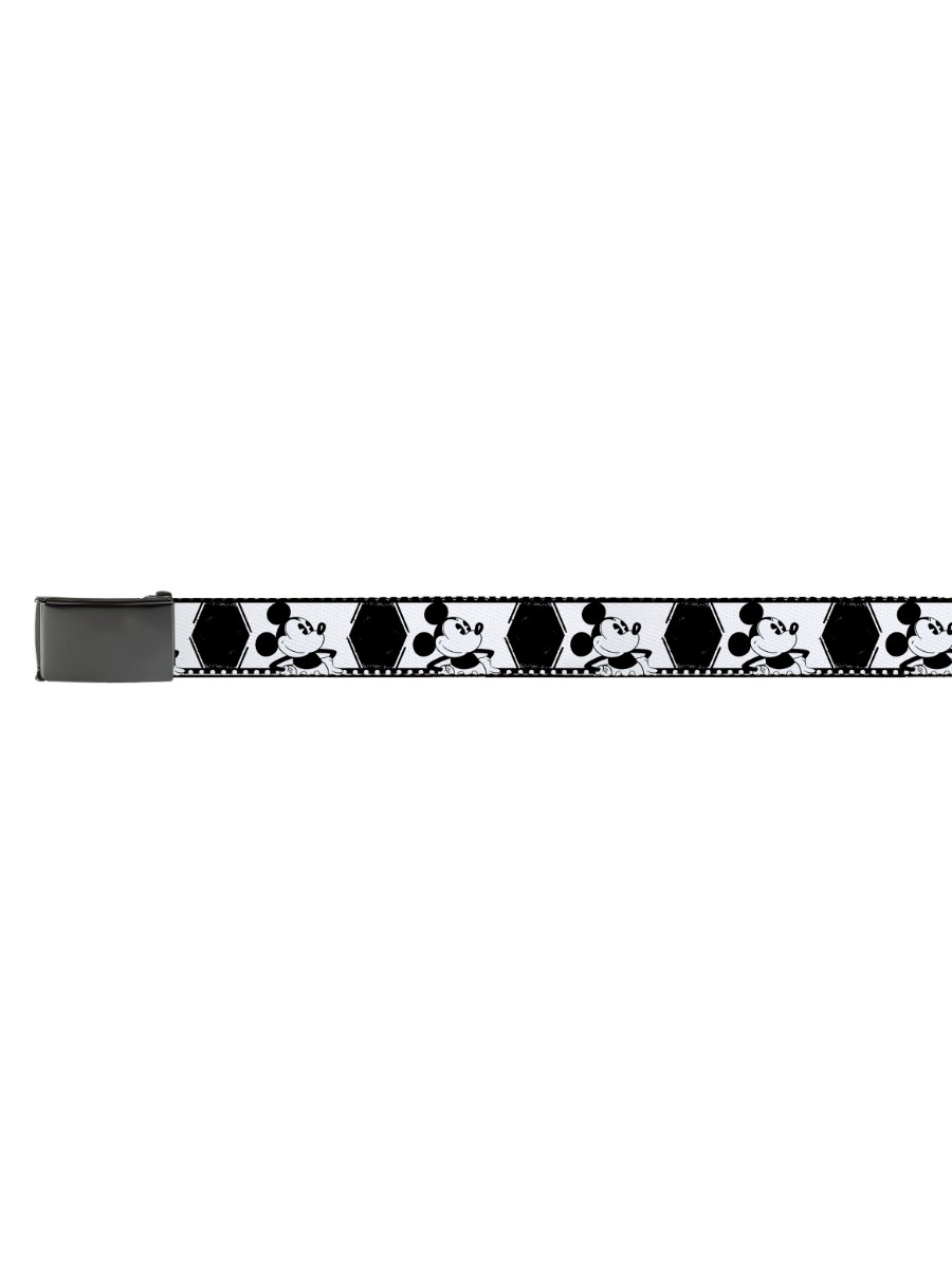 Walt Disney Movies TV Shows Mickey Mouse Vintage Pose Web Belt