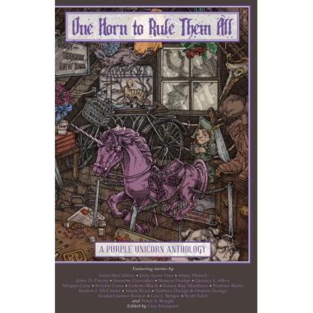 One Horn to Rule Them All : A Purple Unicorn (Purple Horn)