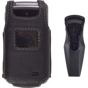 (Wireless Solution Premium Swivel Belt Clip Leather Case for LG VX5500)