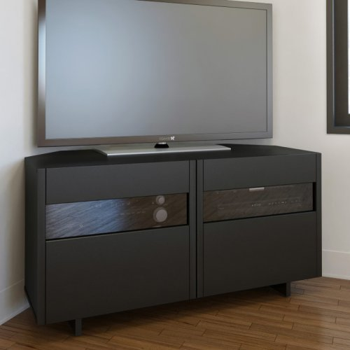 Nexera Vision 48 in. Corner TV Stand - Black