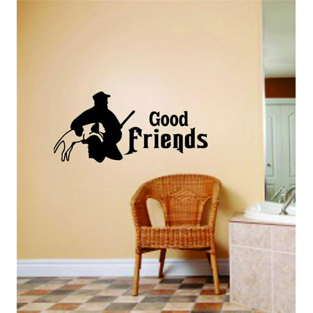 New Wall Ideas Good Friends Letters Buck Deer Image Animal Hunting Hunter Man Gun Boys 6 X 12 (Best Friend Letter Ideas)