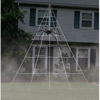 Giant Spider Web Decoration Halloween Decoration](Paper Decoration Ideas For Halloween)