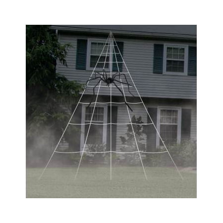 Giant Spider Web Decoration Halloween Decoration](Halloween Decorations Using Construction Paper)