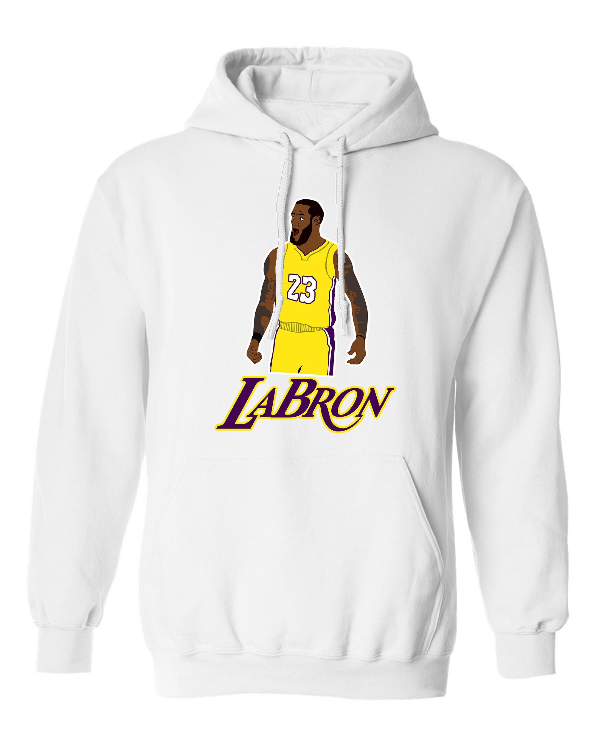 Labron The Look Lebron 23 King Los Angeles Basketball Fans DT Sweatshirt Hoodie