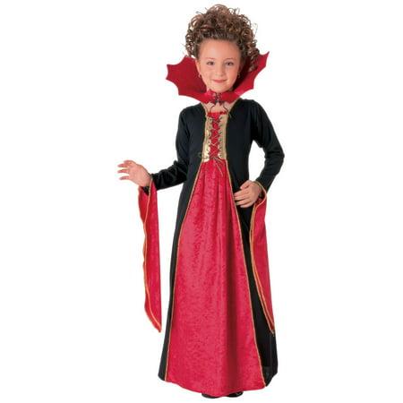 Girl's Gothic Vampiress Costume (Gothic Ballerina Costume)