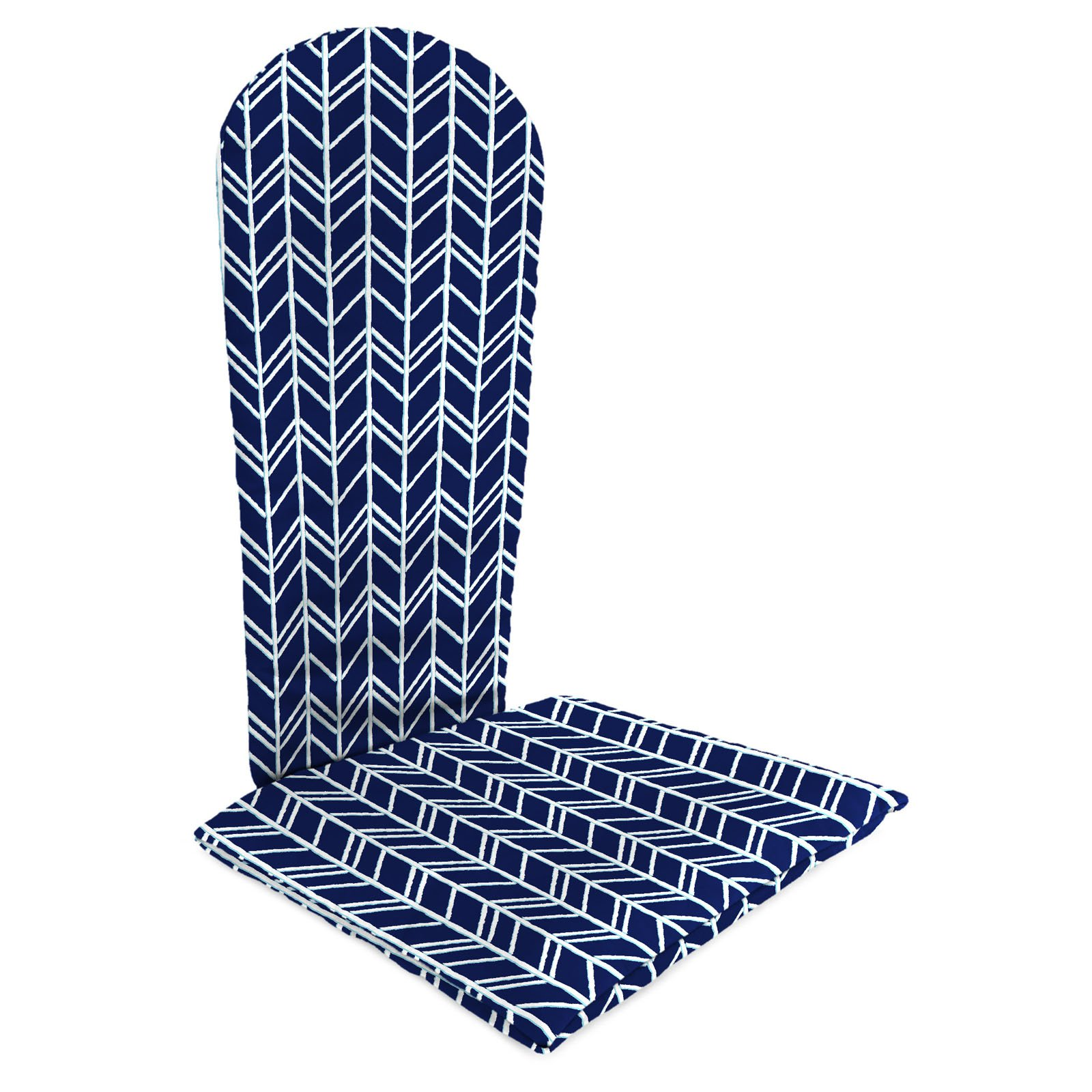 Jordan Manufacturing 49 in. Knife Edge Outdoor Adirondack Chair Cushion - Bogatell