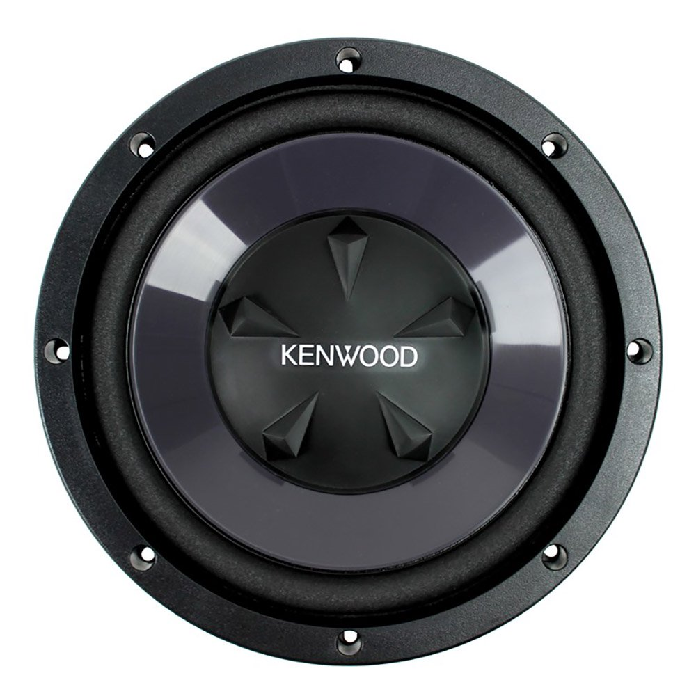 """Kenwood P-W1021 10"""" Bass Party Pack (KAC-5207 2-Channel Amp and 2 KFC-W110S Subwoofers)"""