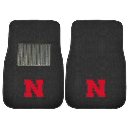 University of Nebraska Embroidered Car Mats