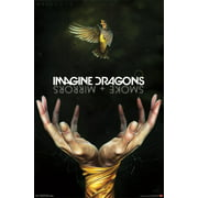 Trends International Imagine Dragons Smoke Wall Poster 22.375