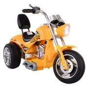 Costway 3 Wheel Harley Style Kids Ride On Motorcycle 12V Battery Powered Electric Toy by Costway