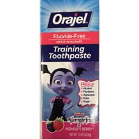 Orajel Vampirina Fluoride-Free Training Toothpaste, Midnight Berry, 1.5oz